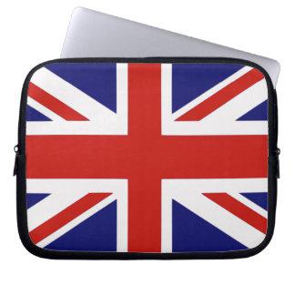 British flag computer sleeve