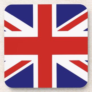 British flag drink coasters