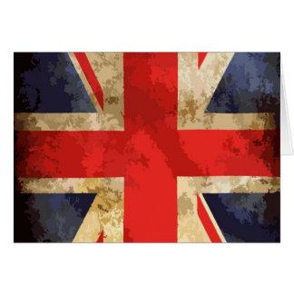 British Flag Design Card