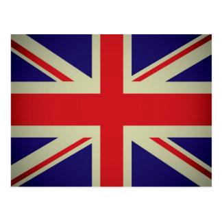 British flag design postcard