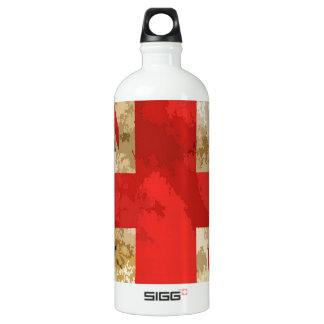 British Flag Design Water Bottle