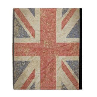 British Flag Distressed iPad Folio Case