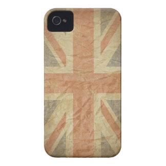 British Flag Distressed iPhone 4 Case-Mate Case
