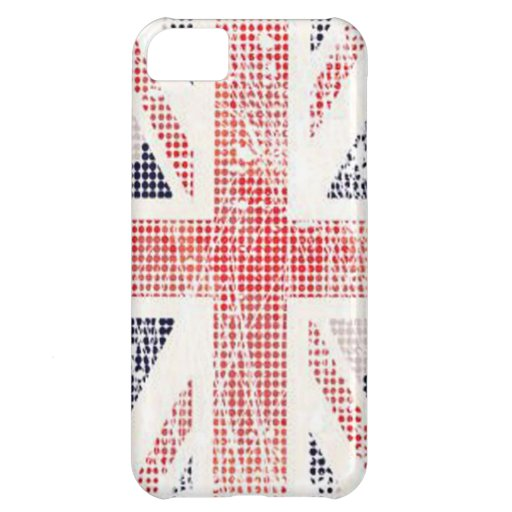 British Flag Distressed Vector iPhone Cover