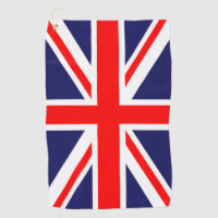 British Flag Golf Towel
