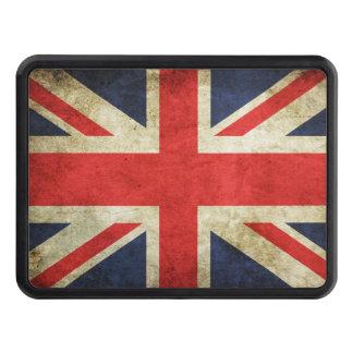 British Flag Grunge Hitch Cover