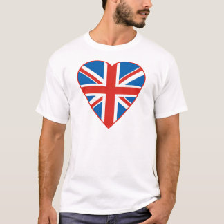 British Flag Heart T-Shirt