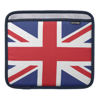 British Flag iPad Sleeves