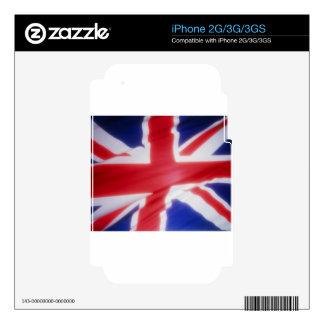 British Flag iPhone 2G Decals