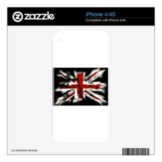 British Flag iPhone 4 Skin