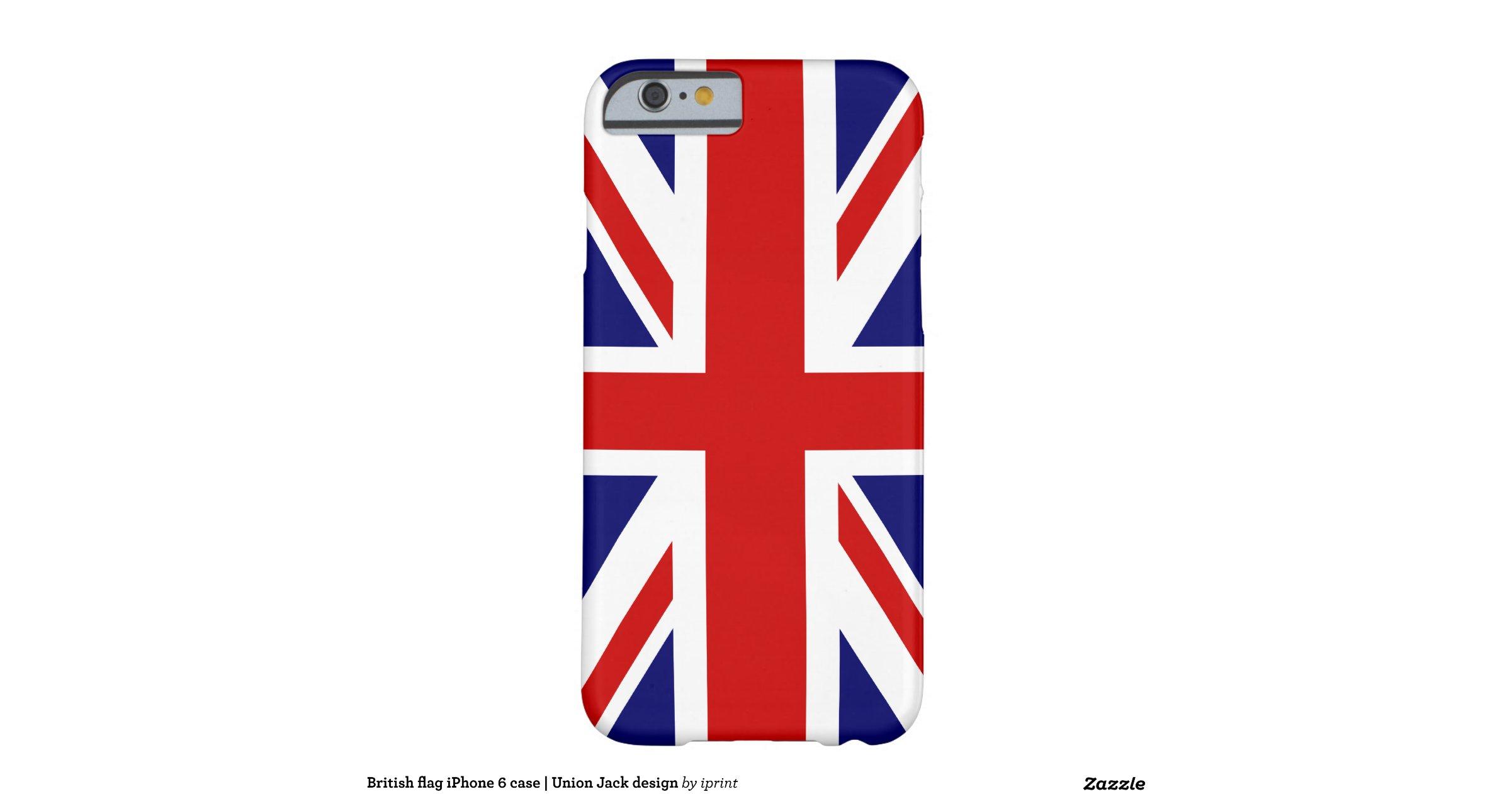 Schoudertas Union Jack : British flag iphone case union jack design