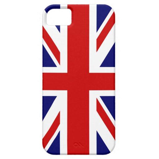 British flag iPhone case   Union Jack design iPhone 5 Case
