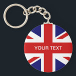 "British flag key chain | Union jack design<br><div class=""desc"">British flag key chain 
