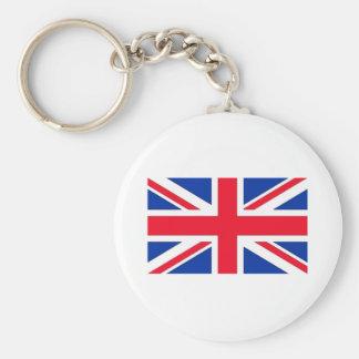 British Flag Keychain