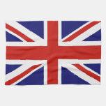 British flag kitchen towels