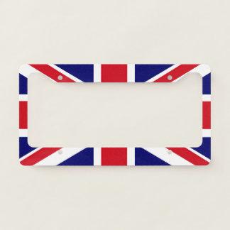 """British Flag"" License Plate License Plate Frame"