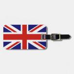 British flag luggage tag