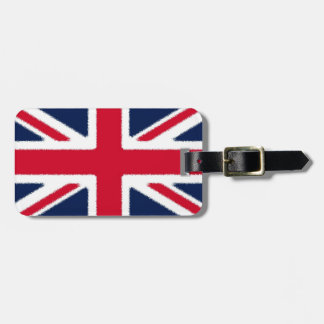 British Flag Tag For Bags