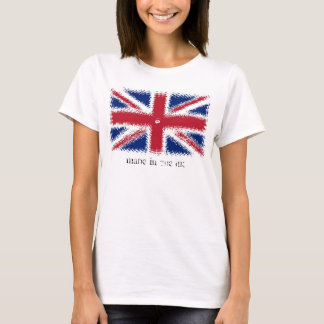 British flag, Made in the UK - Tshirt