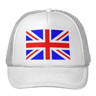 British flag merchandise trucker hat