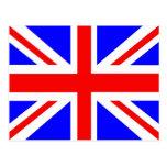 British flag merchandise postcard