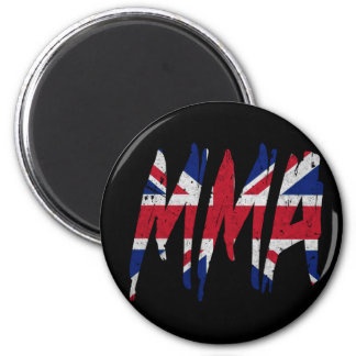 British Flag MMA Refrigerator Magnet
