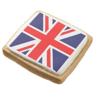 British Flag Square Premium Shortbread Cookie