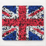 British flag - mouse mat mouse pad
