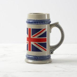 British Flag 18 Oz Beer Stein