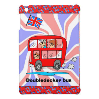 British flag, My husband and Iledeecker bus Case For The iPad Mini