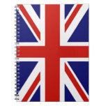 British flag notebook