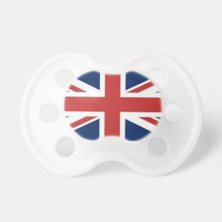 British Flag Pacifier BooginHead Pacifier