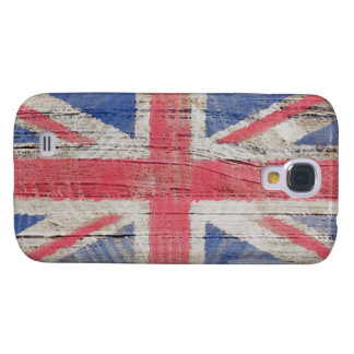 British Flag Painted Over Wood Panel HTC Vivid Case