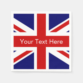 British flag paper napkins | Union jack design