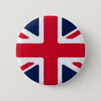 British Flag Pinback Button