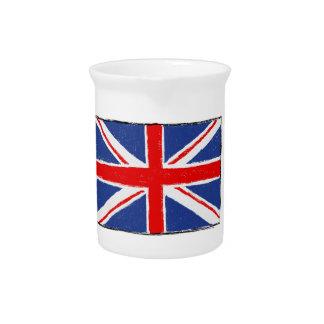 British Flag Beverage Pitchers
