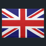 """British flag placemats 