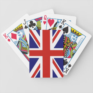 British flag deck of cards