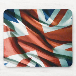 British Flag Pop Art Mouse Pad