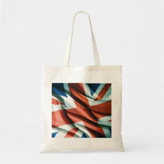 British Flag Pop Art Tote Bag