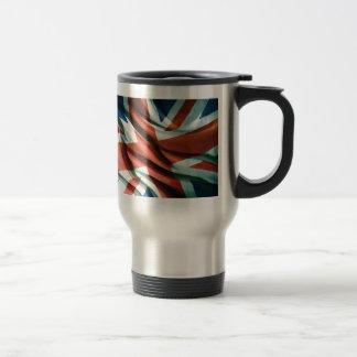 British Flag Pop Art Travel Mug