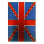british flag post card