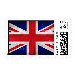 British Flag Postage Stamps