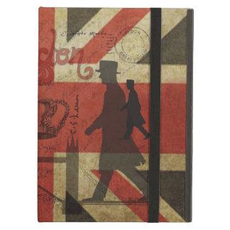 British Flag, Red Bus, Big Ben & Authors iPad Covers