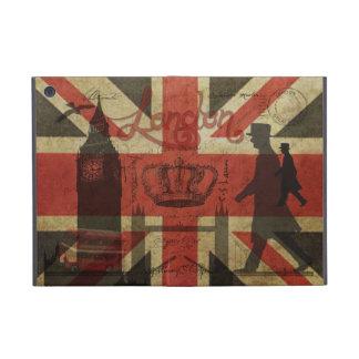 British Flag, Red Bus, Big Ben & Authors iPad Mini Cases