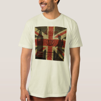 British Flag, Red Bus, Big Ben & Authors T Shirt