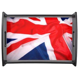 British Flag Service Tray