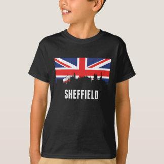 British Flag Sheffield Skyline T-Shirt