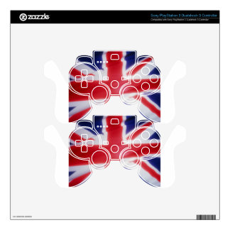 British Flag Skin For PS3 Controller