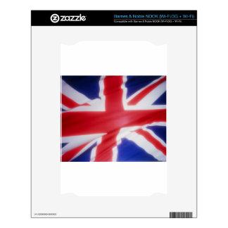 British Flag Skins For NOOK